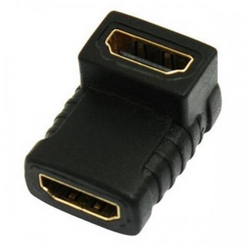 Adaptador HDMI Hembra/Hembra Acodado 90º