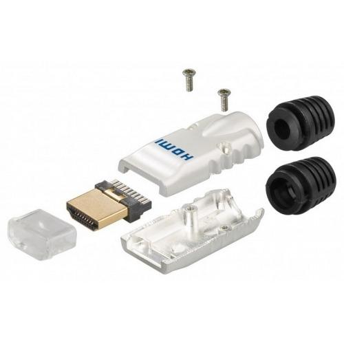 Conector HDMI de metal para soldar