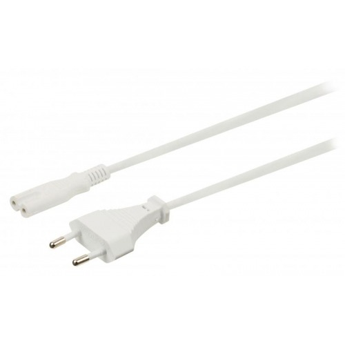 Cable Europeo-IEC-320-C7 Blanco 5m