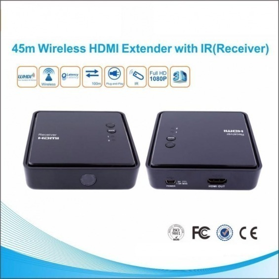 Transmisor inalámbrico HDMI de 100m