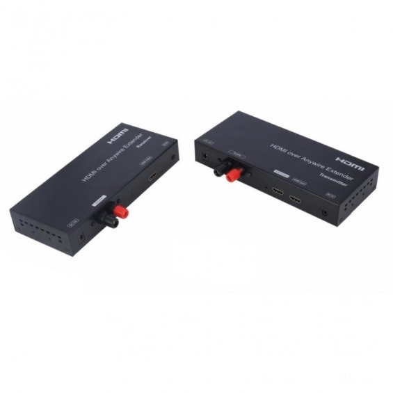 Kit Extender HDMI cable de 2 polos hasta 3800m 1080p