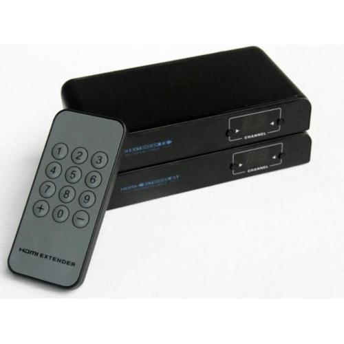Extender Expliter HDMI a través de cable coaxial y divisores CATV con mando a distancia por IR