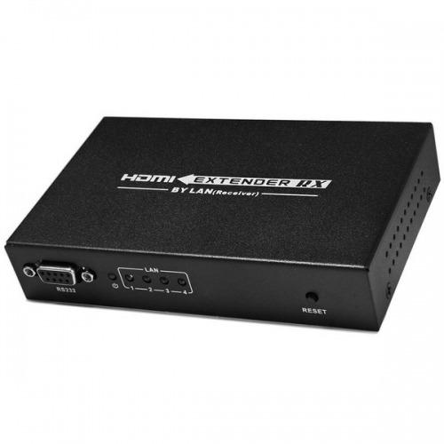 Receptor Adicional Extender IP HDMI hasta 120m Cat6