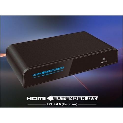 Extender Splitter HDMI & infrarojos 120m y un cable UTP Cat6 por internet