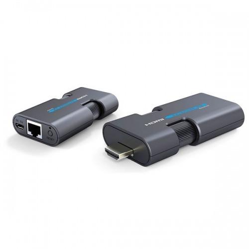 Mini Extender HDMI por UTP Cat 6 de hasta 50 m, de fácil instalación