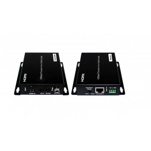 Extender HDMI 100m 1080p y 70m 4k 60Hz. DHCP 2.2, POE, IR Bidirec., Control RS232