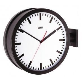 Balance double-sided wall clock 38 cm