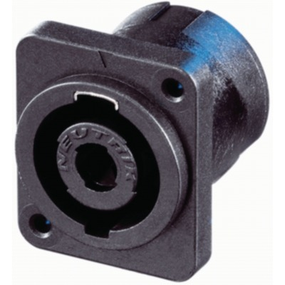 Appliance Plug, Speakon Negro 4P