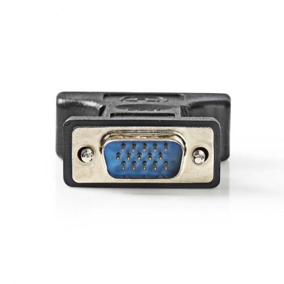 Adaptador DVI-I hembra a VGA macho
