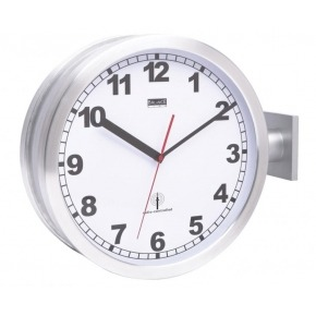 Balance Radio-controlled double-sided wall clock