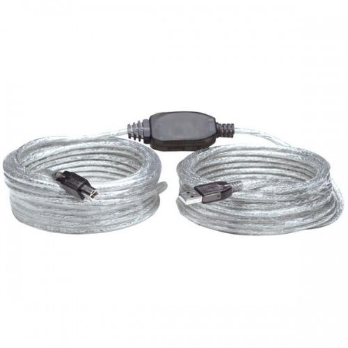 Cable USB activo de 11 metros Tipo USB A macho a Tipo USB B macho