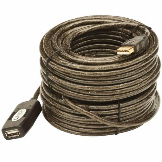 Cable Alargo USB 2.0 AM/AH activo de 15m