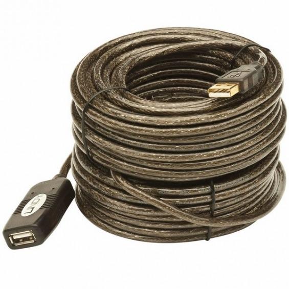 Cable Alargo USB 2.0 AM/AH activo de 10m