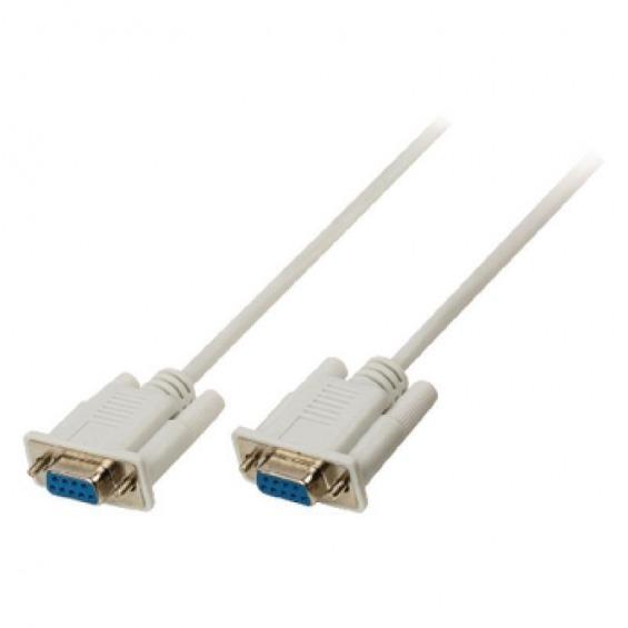 Cable serie 9 pines H/H DB9 de 3 metros