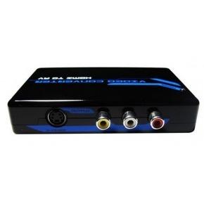 Conversor y Escalador de Av/S-VIDEO a HDMI 720 / 1080 FullHD