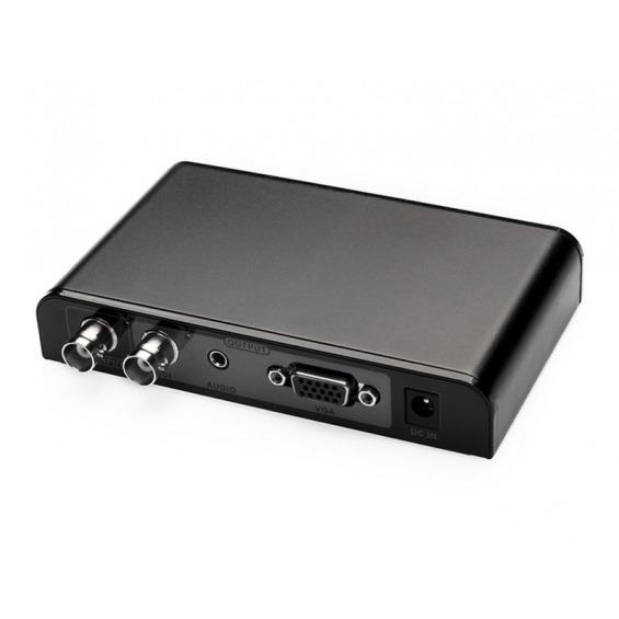 Conversor BNC SDI a VGA con salida BNC SDI adicional