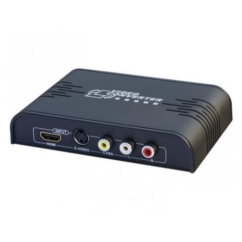 Conversor y Escalador de Video Compuesto & S-Video a HDMI FullHD
