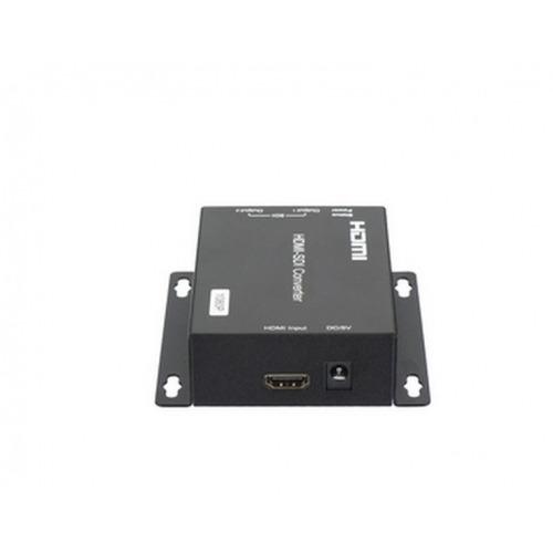 Conversor Distribuidor de 1 x HDMI a 2 x SDI