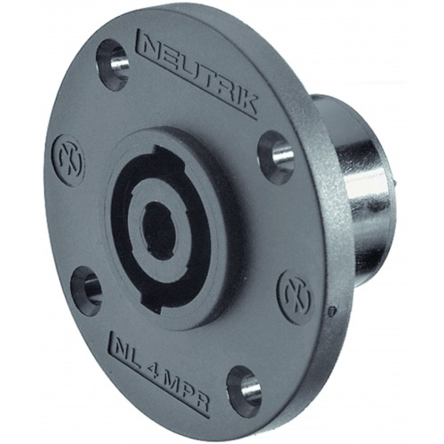 Appliance plug, Speakon Negro 4P