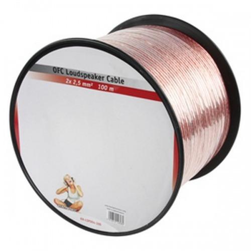 Cable Altavoz OFC 2 x 2.5 mm 100 m