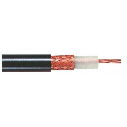 Cable coaxial profesional 50 Ohm