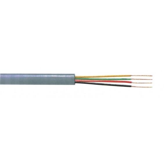 Cable de teléfono de 4 conductores