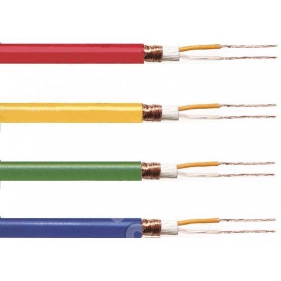 Cable de micrófono 2 x 0,25 mm2