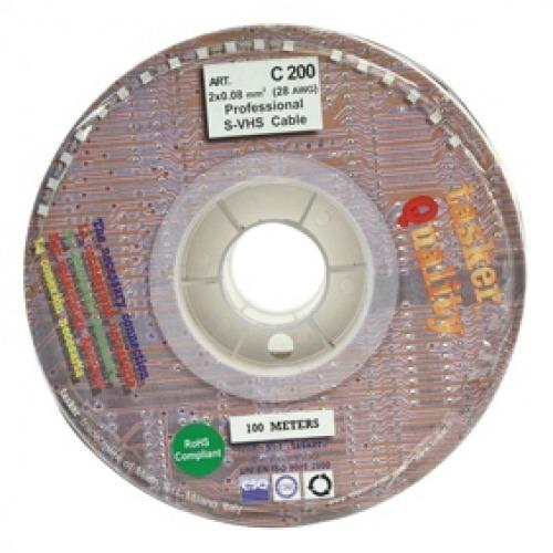 Cable de vídeo 2 x 0.08 mm2 Tasker