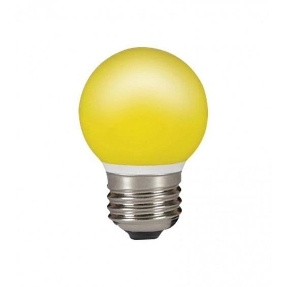 Lampara LED Esférica amarillo 0,5W
