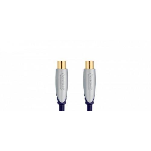 Cable Coaxial para Antena Digital de Rendimiento de Primera Clase 1.0 m