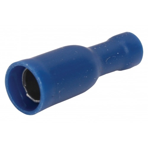 Conector Fast On 5.0 mm Hembra PVC Azul