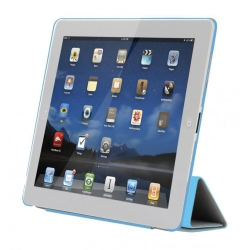 Sweex Funda inteligente azul para iPad