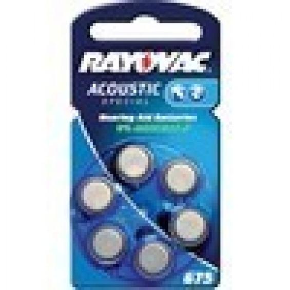 6 pilas para audífono Rayovac