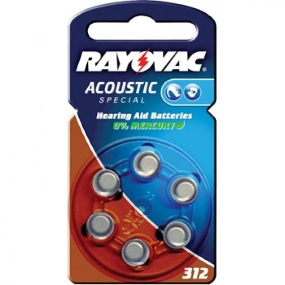 Pilas especiales para audífono Rayovac