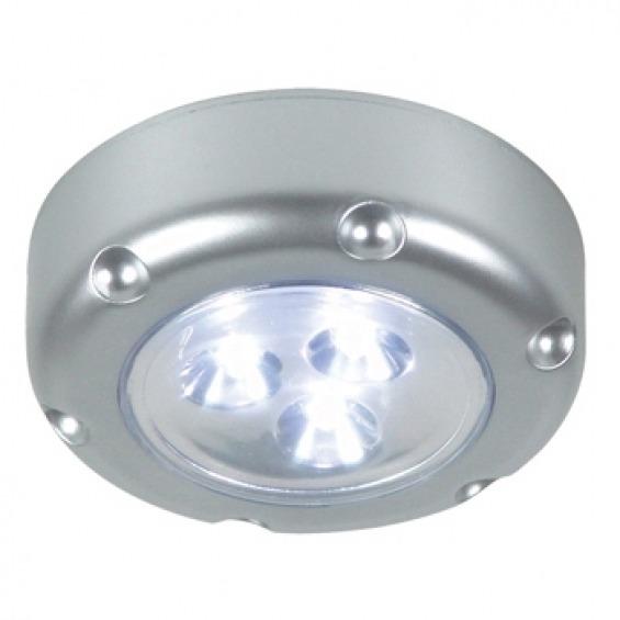 Mini luz LED por presión