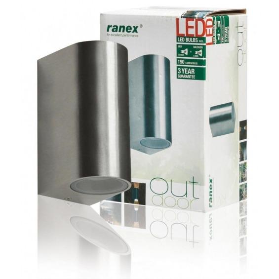 Aplique LED para exteriores con sistema de montaje superficial