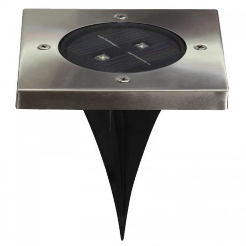 Foco LED solar cuadrado para el suelo