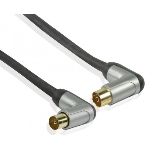 Cable de interconexión de alto rendimiento de antena coaxial en ángulo de 3.00 m