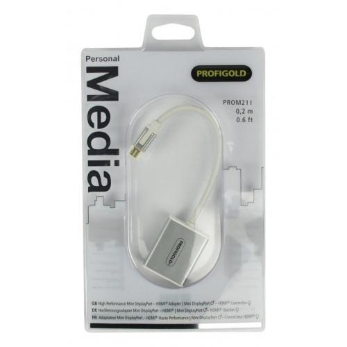 Adaptador Mini DisplayPort - HDMI® de Alto Rendimiento 0.2 m