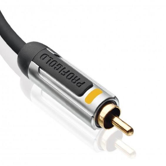 Interconexión Coaxial para Audio Digital de Altas Prestaciones 1.0 m