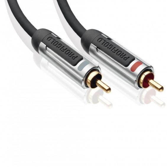 Interconexión de Audio Estéreo de Altas Prestaciones 0.5 m