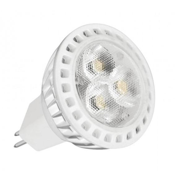 Foco LED triple, 4W, casquillo GU5.3, 6000K