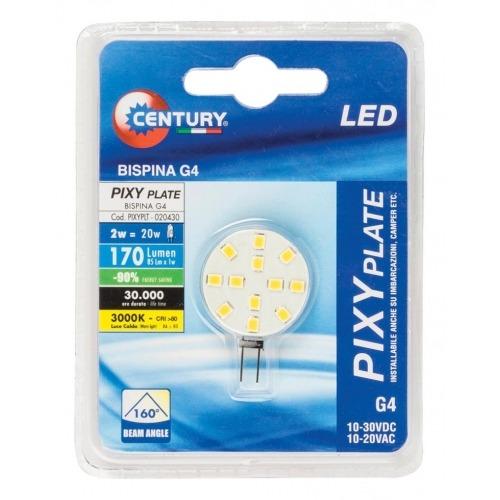 Cápsula LED, 2 W, base G4