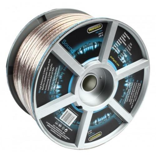 Cable para Altavoz BassFlex de 2,5 mm2 de Alto Rendimiento en Carrete 100.0 m