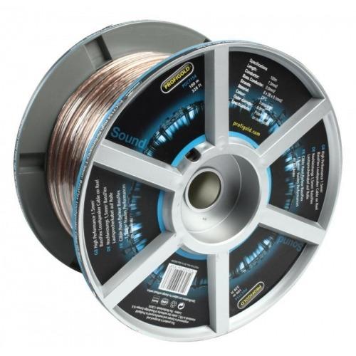 Cable para Altavoz BassFlex de 1,5 mm2 de Alto Rendimiento en Carrete 100.0 m