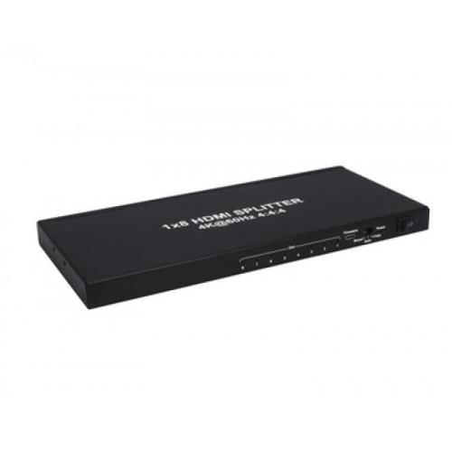 SPLITTER HDMI 2.0 1X8 4K€60Hz UHD, 18GB, HDR, EDID
