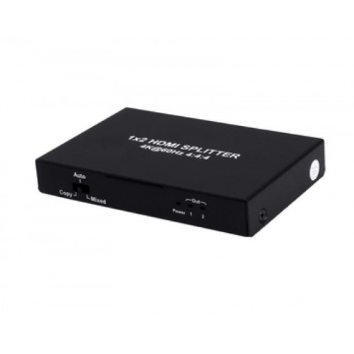 SPLITTER HDMI 2.0 1X2 4K€60Hz UHD, 18GB, HDR, EDID