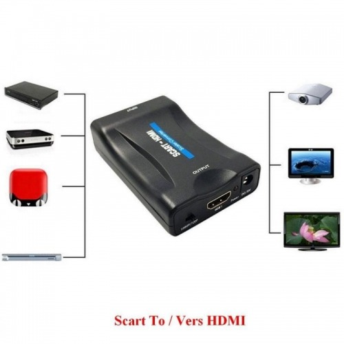 Conversor de Video Scart a HDMI