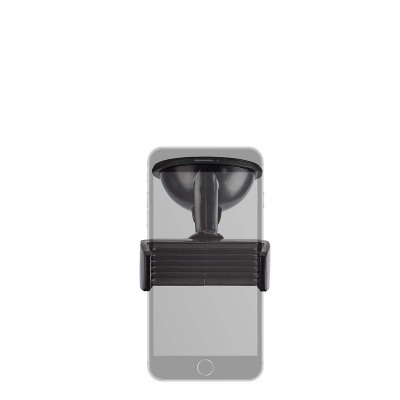 Soporte Universal De Coche Para Smartphone | Ventana/salpicadero | Negro