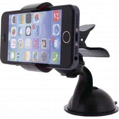 Montaje Teléfono Universal Soporte Para Ventanilla Y Salpicadero Negro